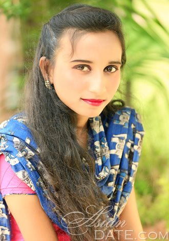 Asian member Neharika from Mysore, 25 yo, hair color Black